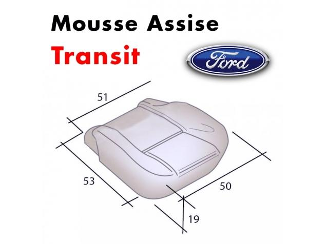 Mousse d'assise moulée Ford Transit