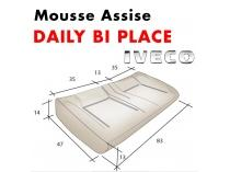 Mousse d'assise moulée Daily Bi-place