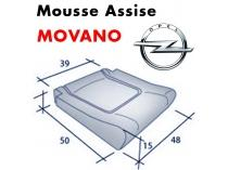 Mousse d'assise moulée Movena