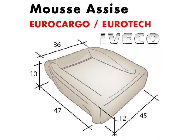 Mousse d'assise moulée Eurocargo / Eurotech