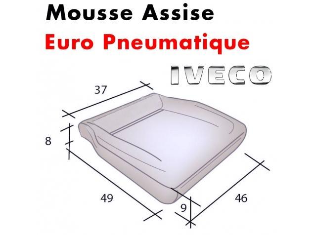 Mousse d'assise moulée Eurocargo / Eurotech Pneumatique