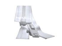 Fermeture à mailles plastiques 9mm séparable simple tirette plastique 140cm