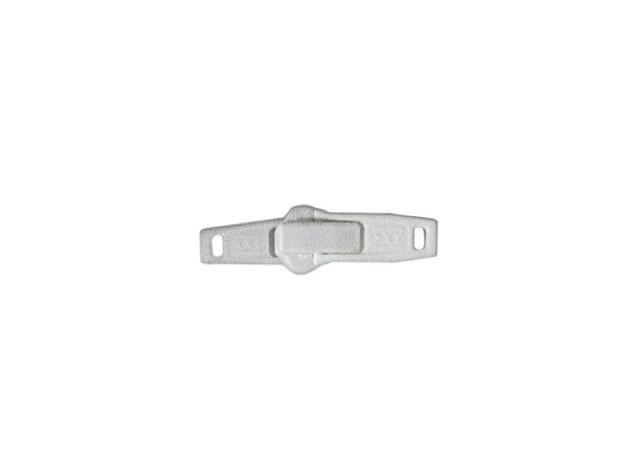 Curseur double tirette plastique pour fermeture 9mm à l'unité