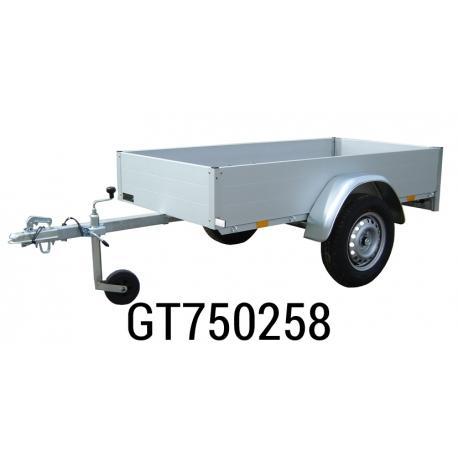 Remorque ANSSEMS Type GT750 208x108x30