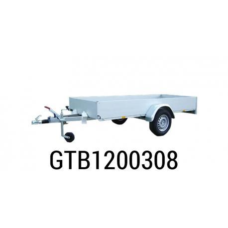 Bache  Remorque ANSSEMS Type GTB 1200 308x133x30