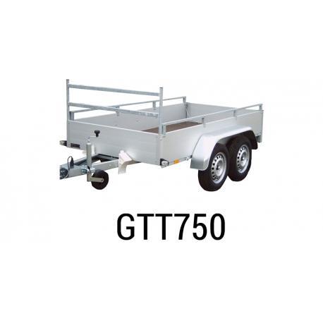 Bache  Remorque ANSSEMS Type GTT 750 258x133x50