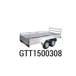 Bache  Remorque ANSSEMS Type GTT1500 258x133x30
