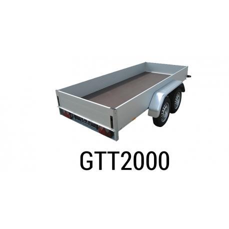 Bache  Remorque ANSSEMS Type GTT2000 308x158x30