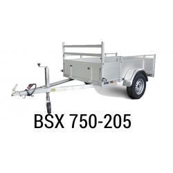Bache  Remorque ANSSEMS Type BSX 705-205