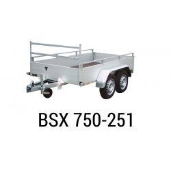 Bache  Remorque ANSSEMS Type BSX 750-251 258x137x35