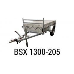Bache  Remorque ANSSEMS Type BSX 1300-205 212x127x35