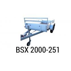 Bache  Remorque ANSSEMS Type BSX 2000-251 258x137x35