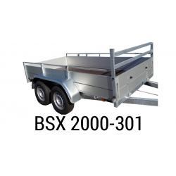 Bache  Remorque ANSSEMS Type BSX 2000-301 308x157x35