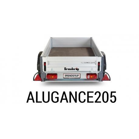Bache remorque Brenderup Alugance 205
