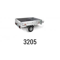 Bache remorque Brenderup 3205