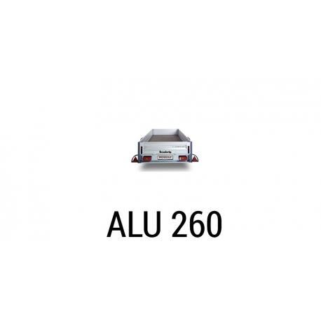 Bache remorque Brenderup Alugance 260