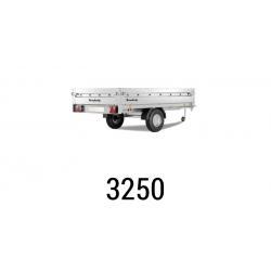 Bache remorque Brenderup 3250