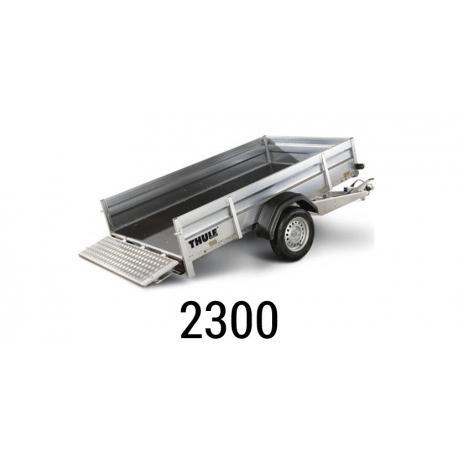 Bache remorque Brenderup 2300