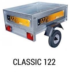 Bache remorque Erde Classic 122