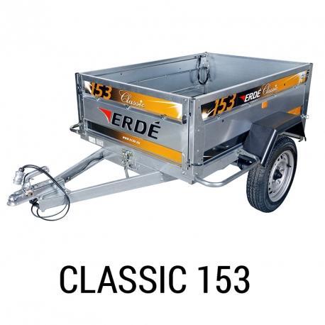 Bache remorque Erde Classic 153