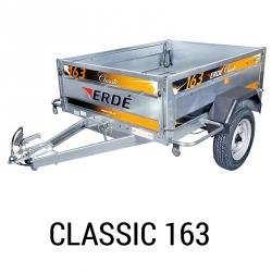 Bache remorque Erde Classic 163