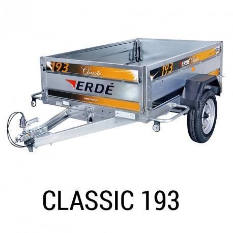 Bache remorque Erde Classic 193
