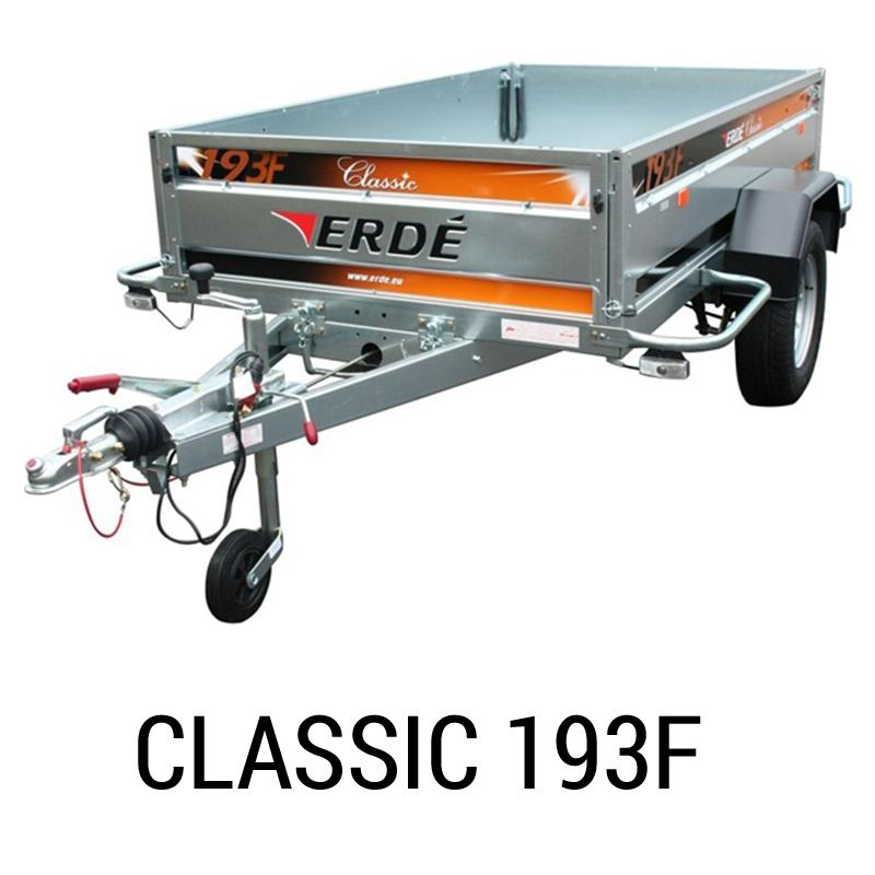 special sales lowest discount outlet store Bache remorque Erde Classic 193F