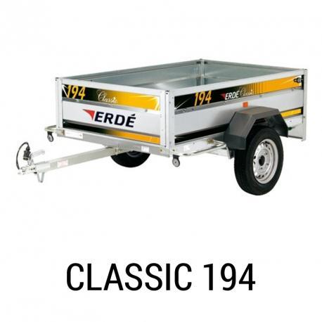 Bache remorque Erde Classic 194