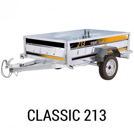 Bache remorque Erde Classic 213