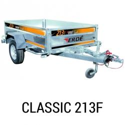 Bache remorque Erde Classic 213F