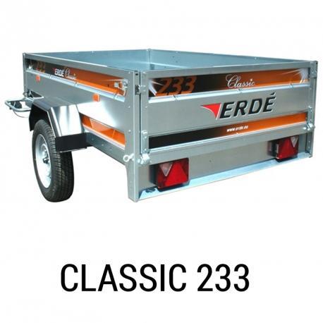 Bache remorque Erde Classic 233