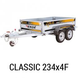 Bache remorque Erde Classic 234x4F