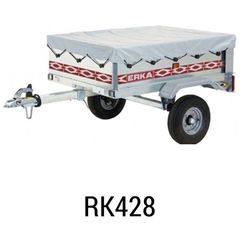 bache pour remorque erka rk428 meilleur rapport qualit prix. Black Bedroom Furniture Sets. Home Design Ideas