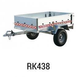 Bache remorque Erka RK 438 161x105x012