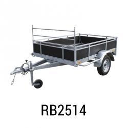 Bache remorque Erka RB2514  255x145x012