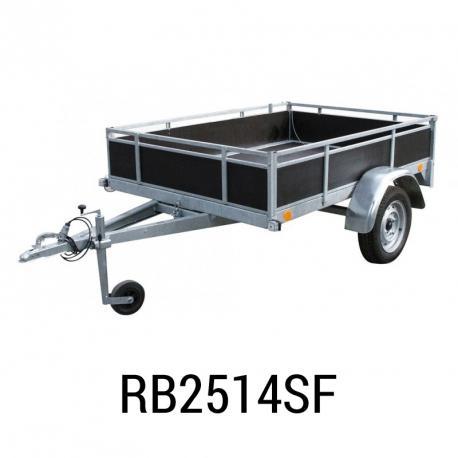 Bache remorque Erka RB2514SF  255x145x012