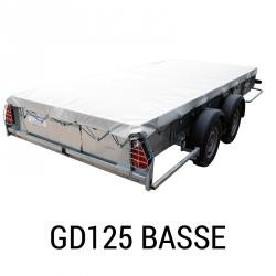 Bache remorque I for williams GD125 basse