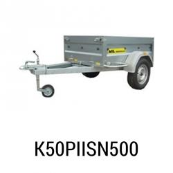 Bache Mil remorque ref K501PIISN500