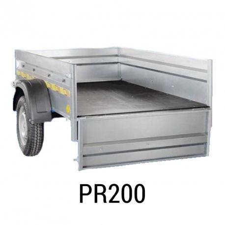 Bache  remorque Sorel PR200