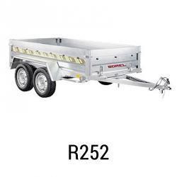 Bache  remorque Sorel R252