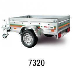 Remorque Sentar 7320 ou UNI 205