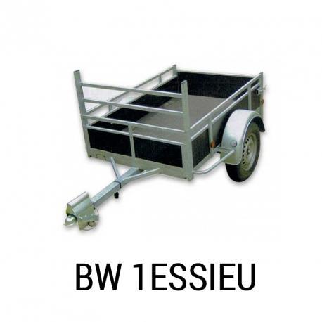 Remorque Sentar BW 1 essieu