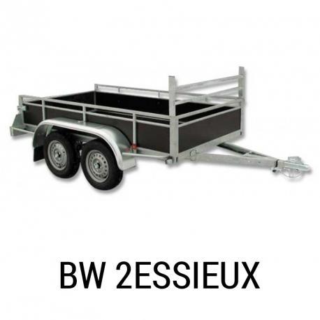 Remorque Sentar BW 2 essieux