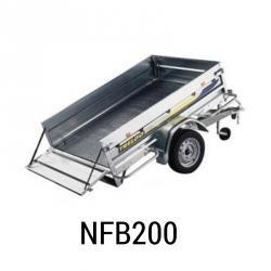 Bache remorque TRELGO NFB 200 205x139x012