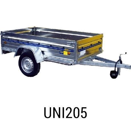 Bache  remorque UNI 205 212x129x012