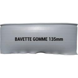 Bavette gomme 135mm