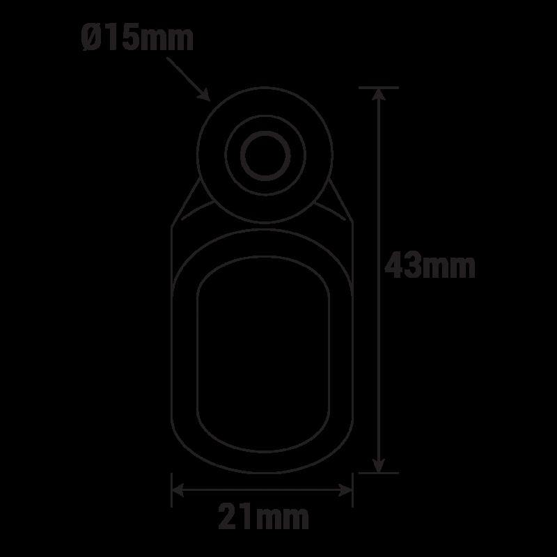 Roulette Rail Pergola