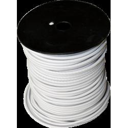 Sandow  bobine de 100m 6mm blanc