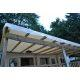 3.40m x 3.00m bache toiture mobil home blanc