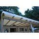 5.55m x 2.90m bache toiture mobil home beige